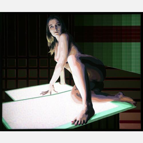 Nude on Lightbox