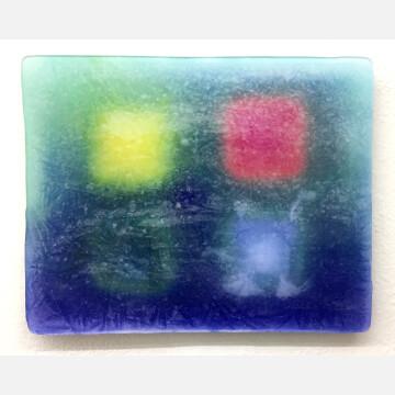 Ice painting lambda print, 2018